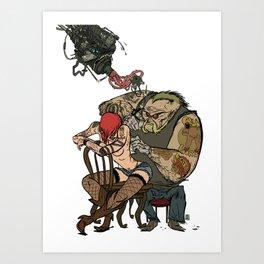 NICOLAS BRONDO ARTS - Tattoo nation Art Print