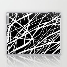 Tumble 2 Black Laptop & iPad Skin