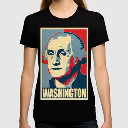 George Washington Propaganda Pop Art T-shirt