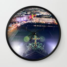 Berlin Cathedral Night City View Wall Clock