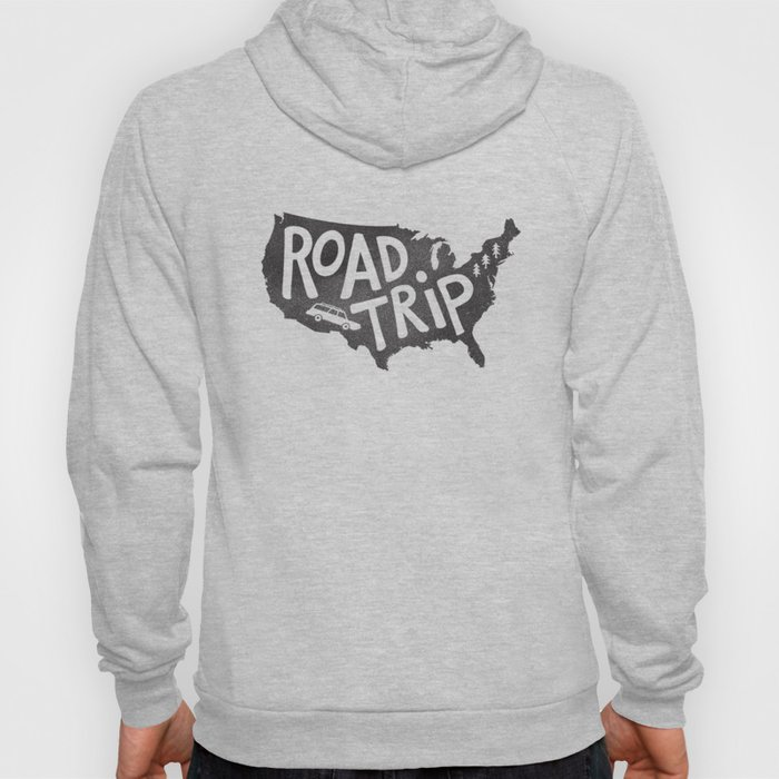 Road Trip USA - big sur Hoody