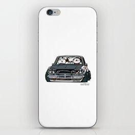 Crazy Car Art 0157 iPhone Skin