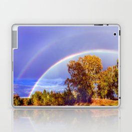 Below the Rainbow Laptop & iPad Skin