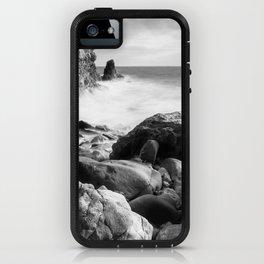 Corona del Mar beach in Southern California iPhone Case