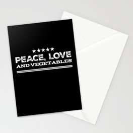 Love And Peace Stationery Cards