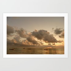 A New Day has Come Art Print