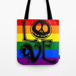 Jack Skellington Pride Tote Bag