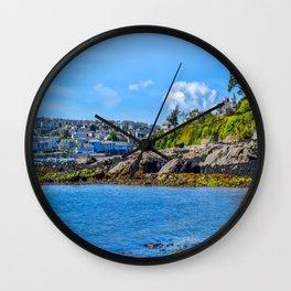 Falmouth from Flushing Beach Wall Clock