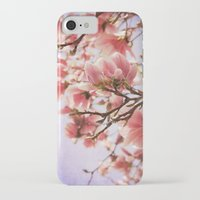 magnolia iPhone & iPod Cases featuring Magnolia  by KunstFabrik_StaticMovement Manu Jobst