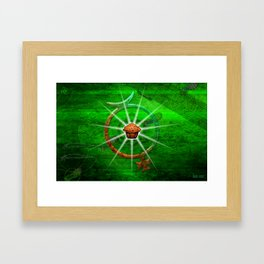 The Mighty Nuffin Muffin Framed Art Print