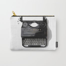 Typewriter (Black and White) Carry-All Pouch