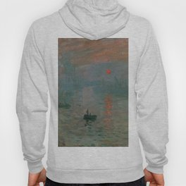 Impression, Sunrise, Claude Monet Hoody