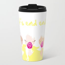 Let's End Endo - It's Okay to Talk Travel Mug
