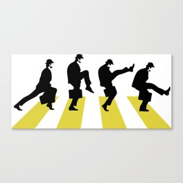 Ministry of Silly Walk Canvas Print