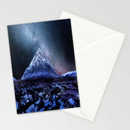 Milky Way Mountain Stationery Cards