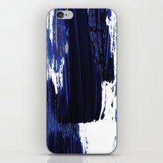 Blue mood iPhone & iPod Skin