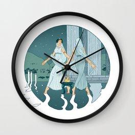 Dance at midnight Wall Clock
