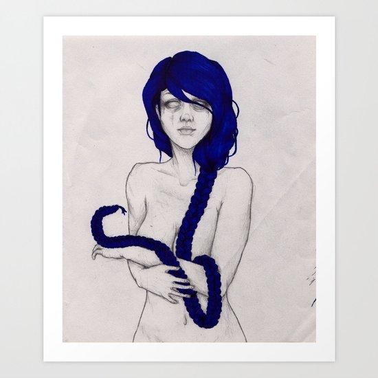 serpentes Art Print
