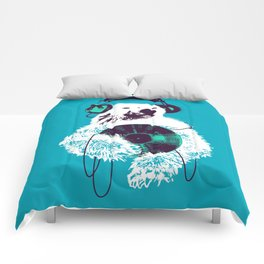 Record Bear Comforters