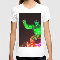 hulk T-shirts featuring Hulk by Roser Arques