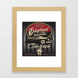 Cruisin 49 Framed Art Print