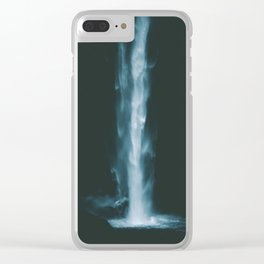Thundering Falls III Clear iPhone Case