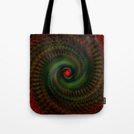 Spiral Madness Tote Bag