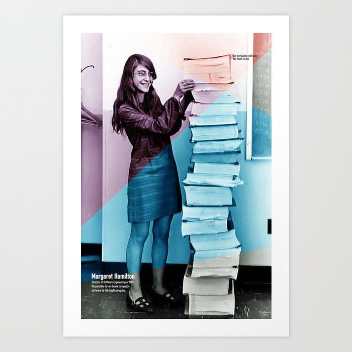 Women of NASA: Margaret Hamilton Kunstdrucke