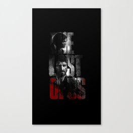 The Last of Us - black blood edition Canvas Print