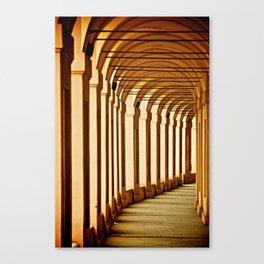 Portico di San Luca Canvas Print