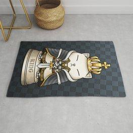Cat Chess King Rug