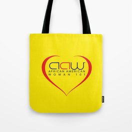 AAW101 Yellow Tote Bag