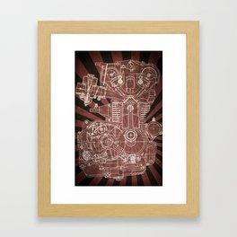 CB450 Japan Framed Art Print