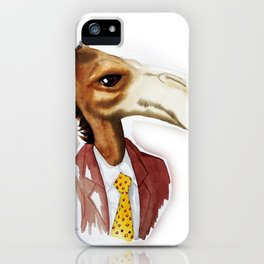 Mr. Camel iPhone Case