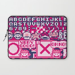 Glitched Mario Laptop Sleeve