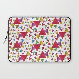 Fractal Triangles Pattern Laptop Sleeve