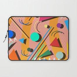 80s pop retro pattern Laptop Sleeve