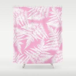 Rose Fern Shower Curtain