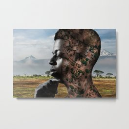 African territories Metal Print