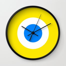 This is the Point, Yellow Pop Art Wall Clock