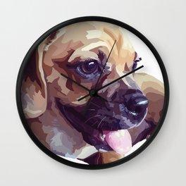 Rubie Dawg Wall Clock