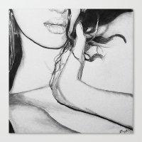 virgo Canvas Prints featuring Virgo by EyeSeeArt