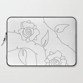 Rose Bush Laptop Sleeve