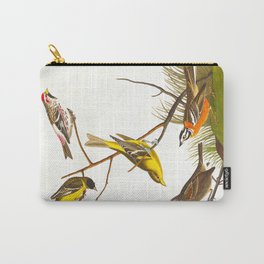 Arkansaw Siskin Bird Carry-All Pouch