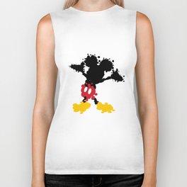 Mickey Mouse Paint Splat Magic Biker Tank