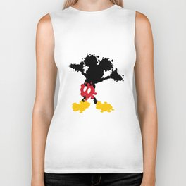 Mickey Mouse Paint Splat Magic Biker Tank