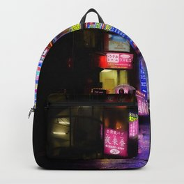 Japan - city - night 1 Backpack