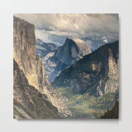 Yosemite National Park Last Light Of The Day  10-2-18 Metal Print