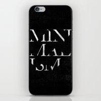 minimalism iPhone & iPod Skins featuring Minimalism by Roni Lagin & Co.