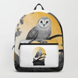 Golden Owl Backpack
